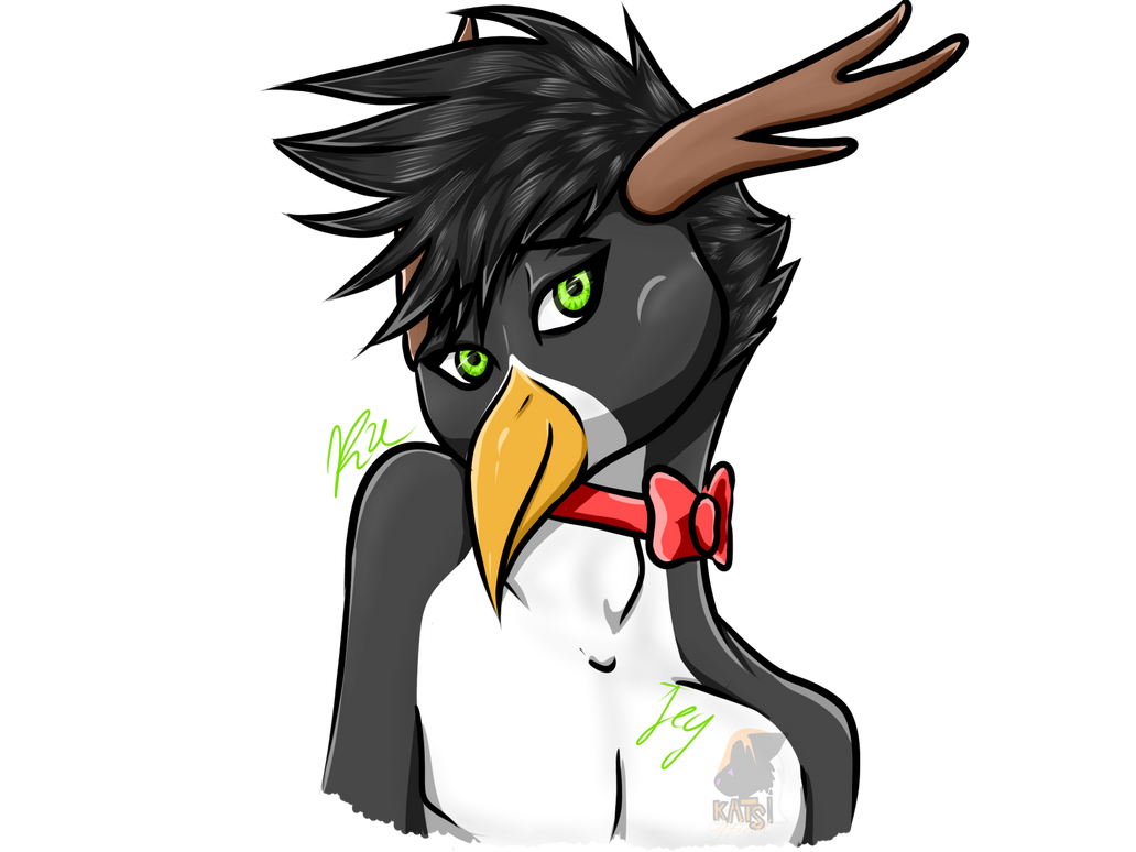 Head Jey Furry Pingwin by Kedra-PL