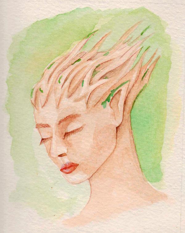Forest Nymph by Eyliana