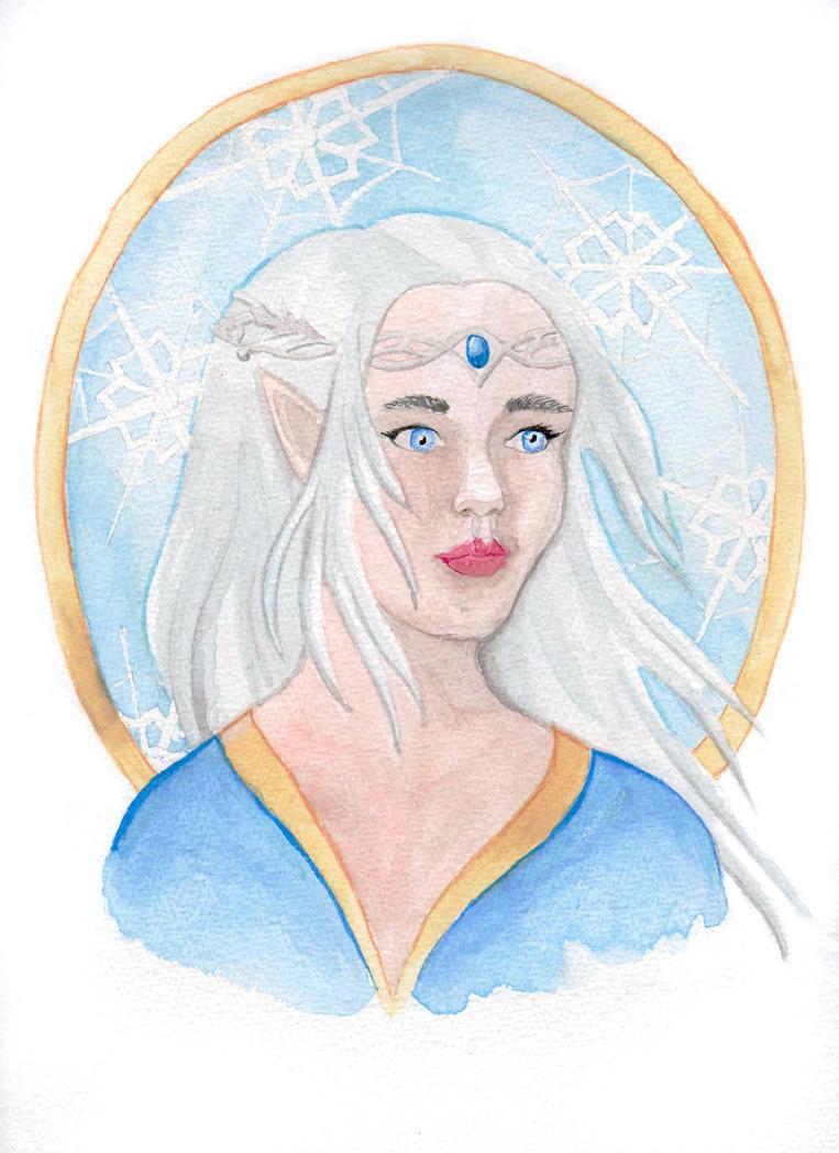 Ophelia, the frost Princess by Eyliana