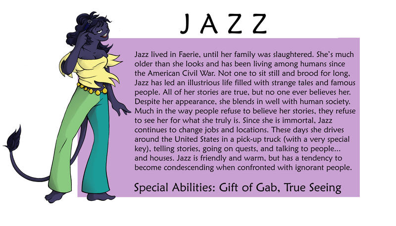Jazz Bio by SurlyQueen