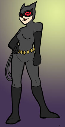 Tacit as Catwoman by SurlyQueen