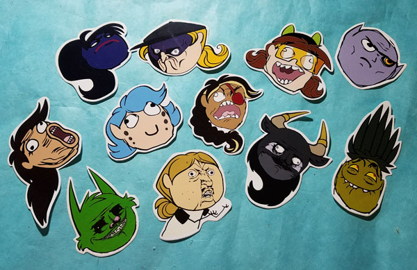 On the Couch Meme Stickers by SurlyQueen