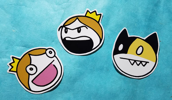 Life On a Stick Stickers by SurlyQueen