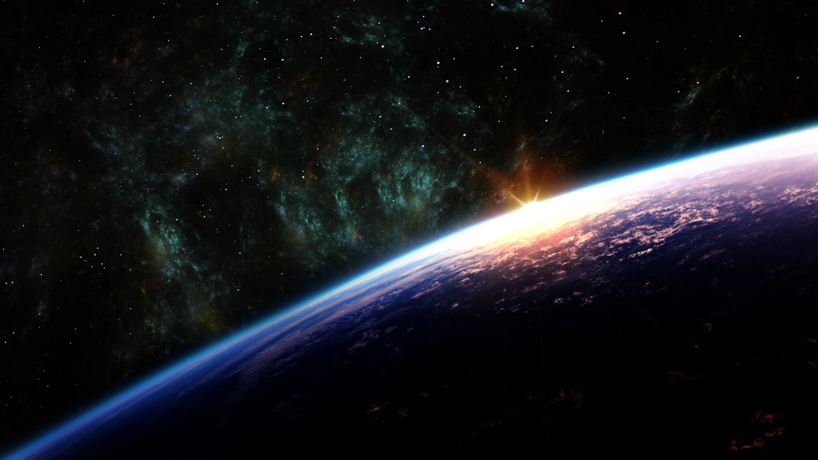 Space Wallpaper By Ivanuvo