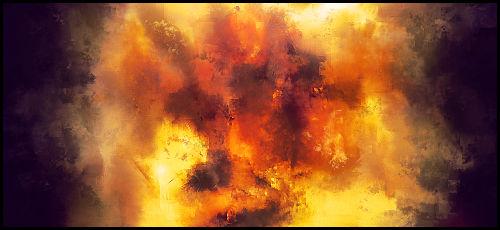 Fiery Smudge