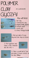Polymer Clay GYOZA Tutorial!! :3