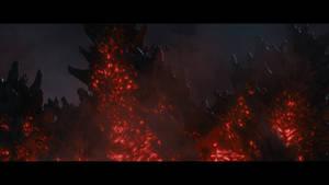 Shin Godzilla Dorsal Plates