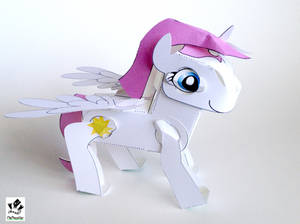 Empyrea The Pony Papercraft