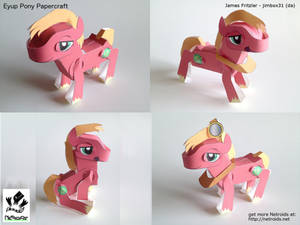 Eyup Pony Poseable Papercraft