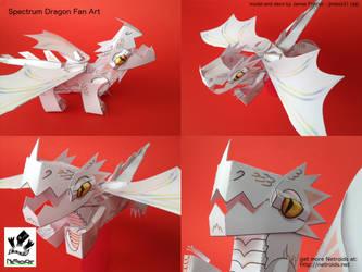 Raxtus Dragon Fan Art Papercraft from Fablehaven by jimbox31