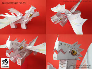 Raxtus Dragon Fan Art Papercraft from Fablehaven