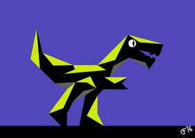 Shadow Raptor by jimbox31