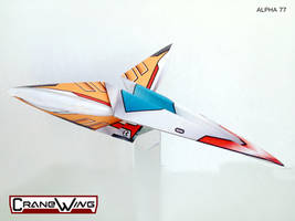 CraneWing Alpha 77 PaperToy by jimbox31