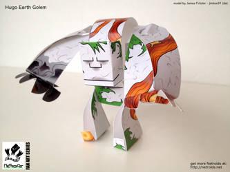 Hugo the Earth Golem Fan Art - Fablehaven by jimbox31