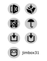 Save Button Icon Alternatives by jimbox31