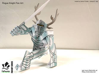 Rogue Knight Fan Art Paper Toy by jimbox31