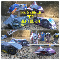 The Search for Beatdown - Overcompensatron Fan Art by jimbox31