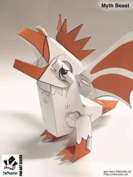 Belvedere Fan Art Paper Toy - from GMM