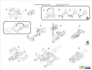 Instructions for Puma Core Netroid Papercraft