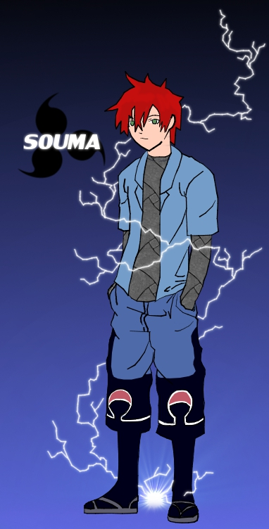 My Character Illustrations Souma_Uchiha_by_Kida_Jaya