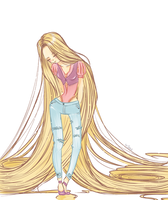 Rapunzel by Avvangarda