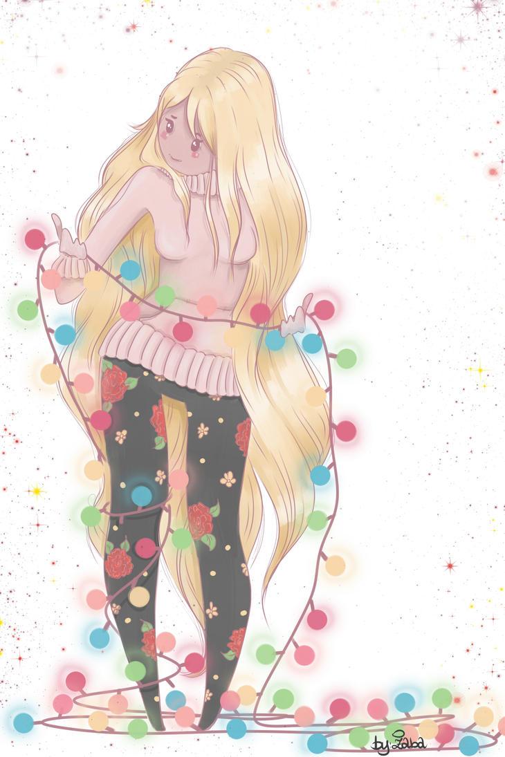 Secret Santa - Lazure-chan by Avvangarda