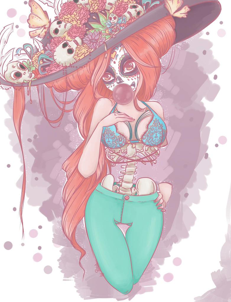 Miss Death by Avvangarda
