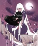 Fluffy Black Fur