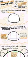 Rilakkuma Face Drawing Guide by mayyatan