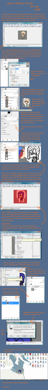 GIMP Tutorial Shimeji Making by The-Lovely-Fagot