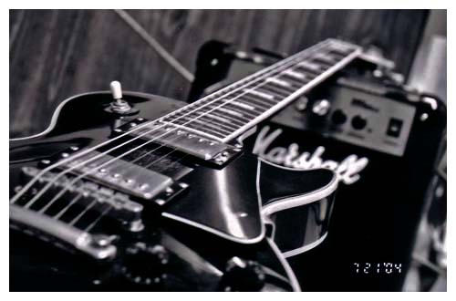 Epiphone Wallpapers: Black And White Les Paul By Beauty-fades On DeviantArt