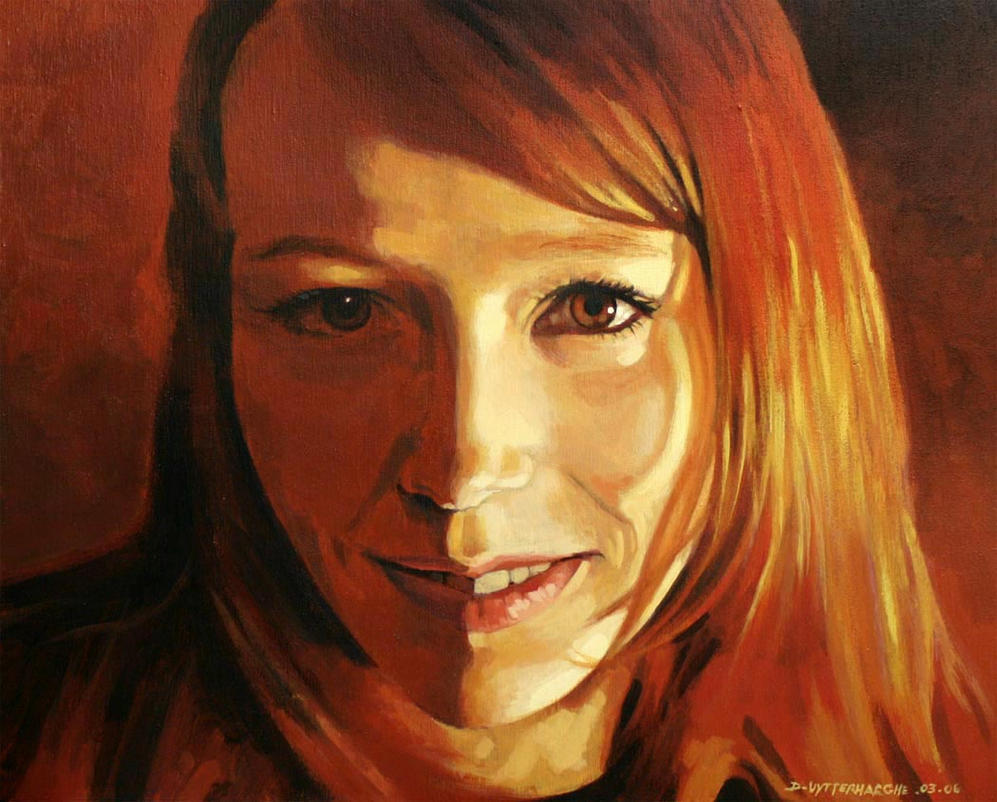 Celine my daughter by UytterhaegheDaniel