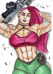 Vera: Violent, Vivacious and Victorious by AmateurUnleaded