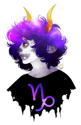 HS - Indigo Galaxy by rainbow-vore