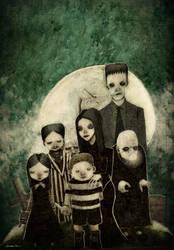 The Addams Family by berkozturk
