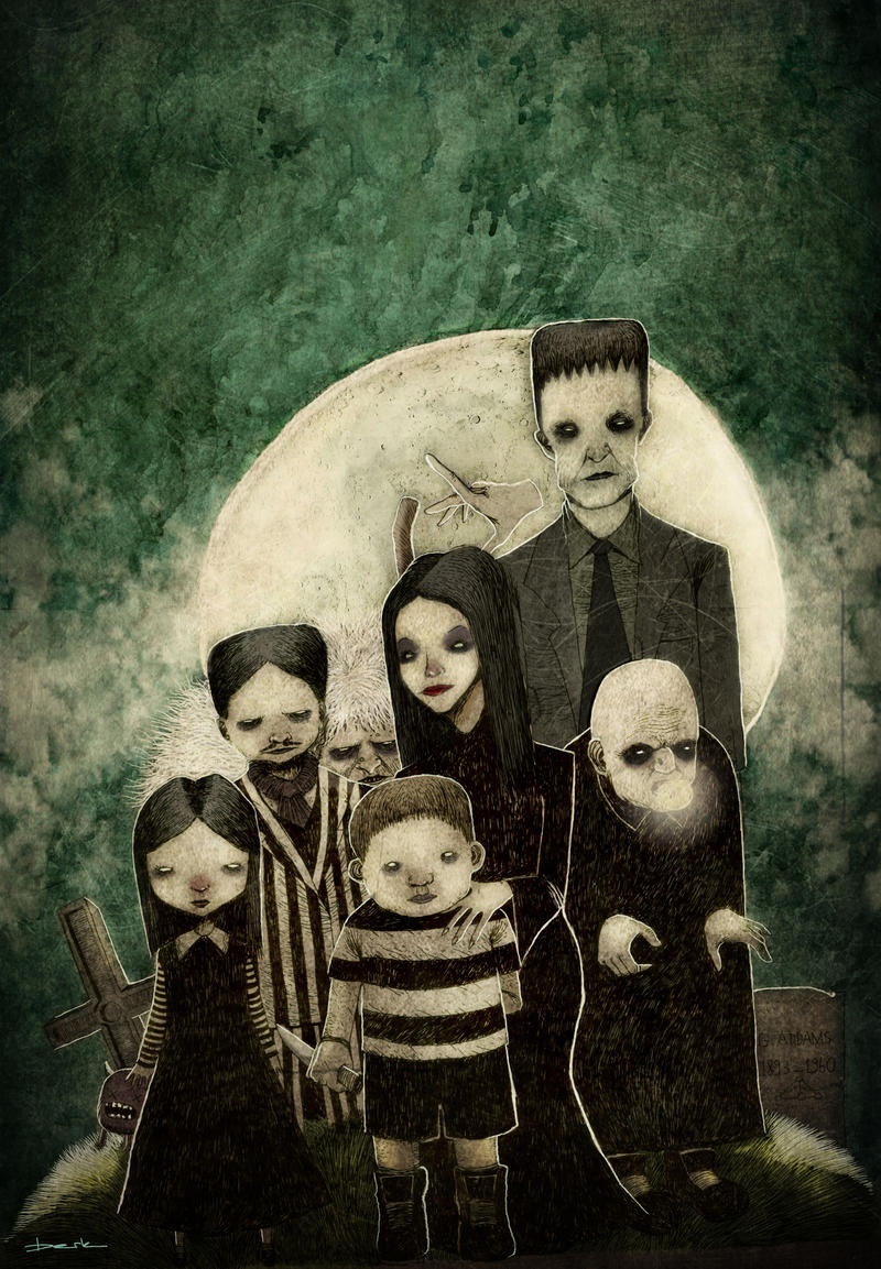 The Addams Family by berkozturk