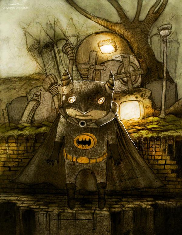 Dark and Melancholic Illustrations