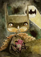 baby batman by berkozturk