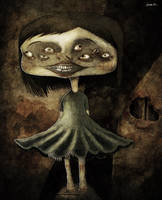 paranoiac girl by berkozturk