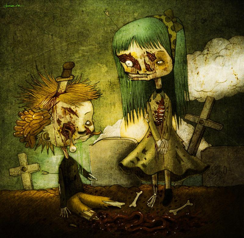 zombie love by berkozturk