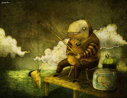 fishdream by berkozturk