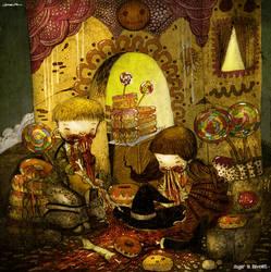 Hansel and Gretel by berkozturk