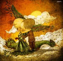 winged love by berkozturk