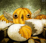 mandarin bird