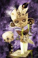 Child with sick imagination by berkozturk