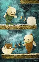 Snow Bros by berkozturk
