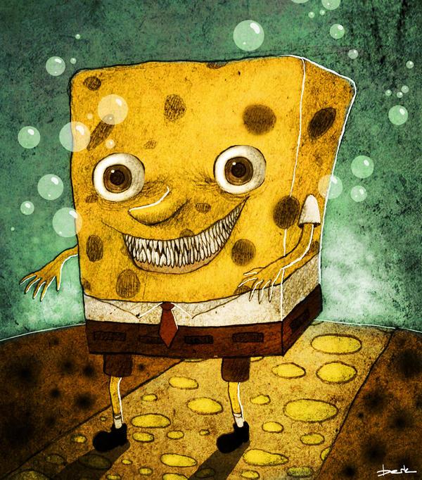 sponge bob by berkozturk