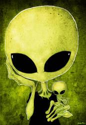 ufo by berkozturk