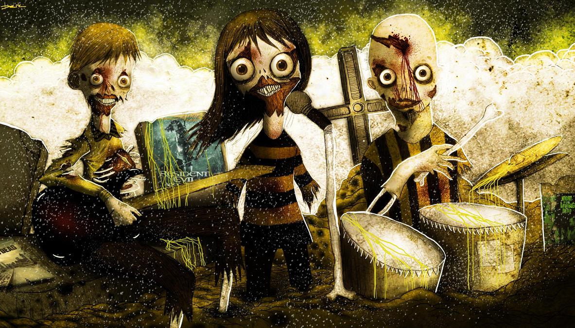 zombie band by berkozturk