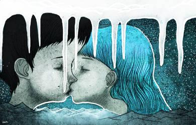 ice kiss by berkozturk